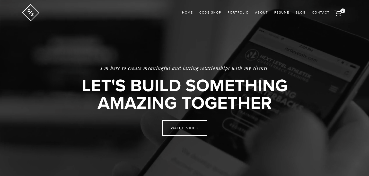 18 Personal Websites to Inspire Your Own Screen 20Shot 202017 09 18 20at 201