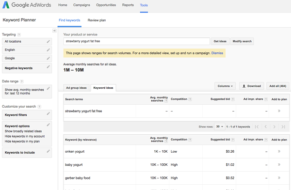 Finding the Best Search Terms for Your Business: 10 Tools