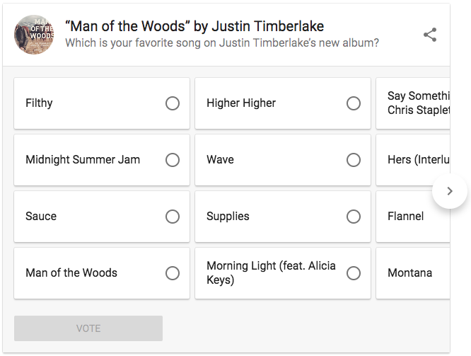 What are Google and Justin Timberlake Up To?