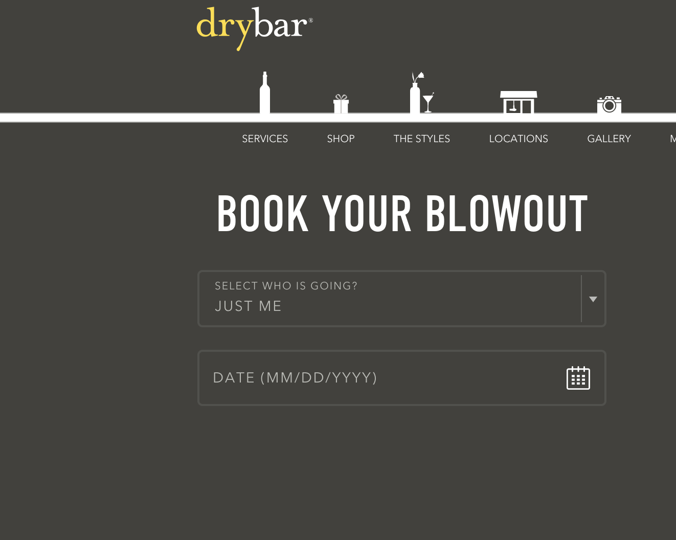 drybar-appointment-booking