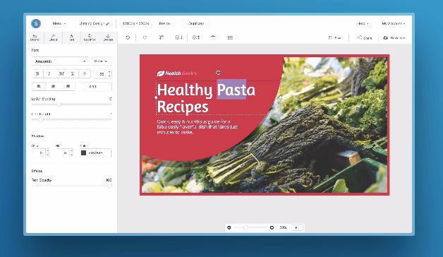 snappa design dashboard