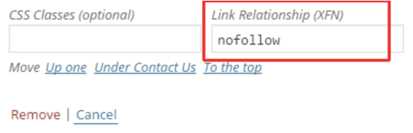 nofollow-wordpress-links