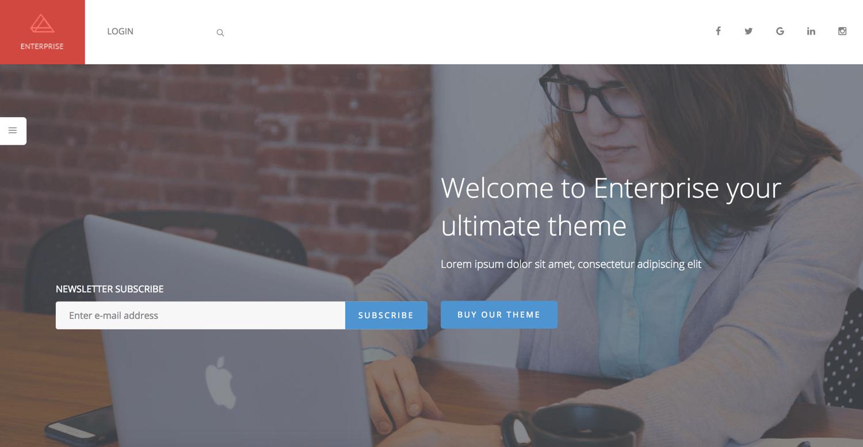 enterprise-simple-wordpress-theme