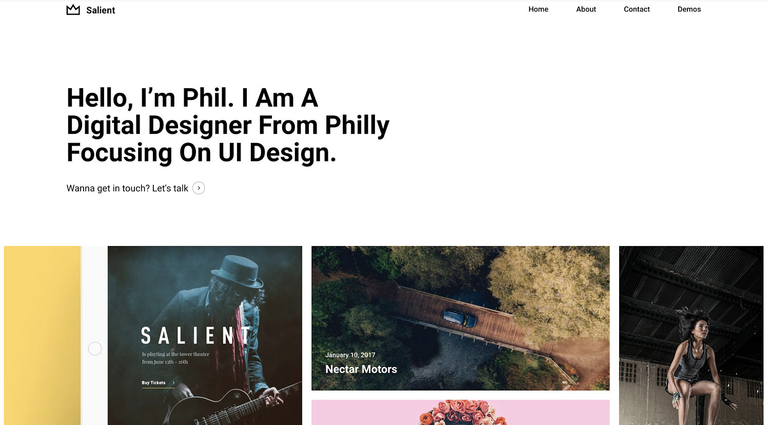 salient-simple-wordpress-theme