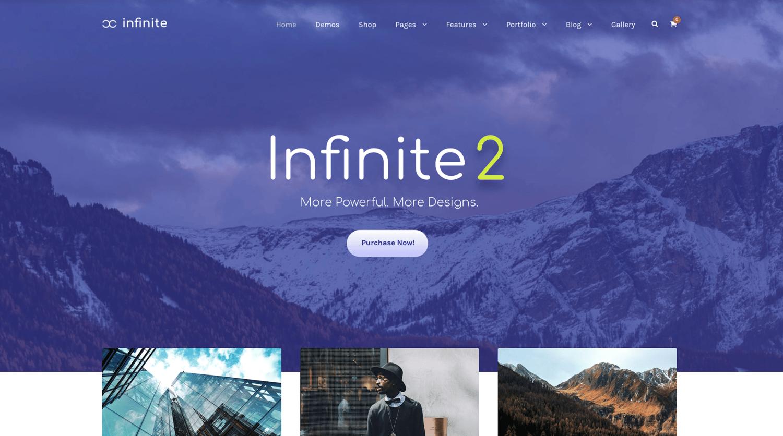 infinite-simple-wordpress-theme