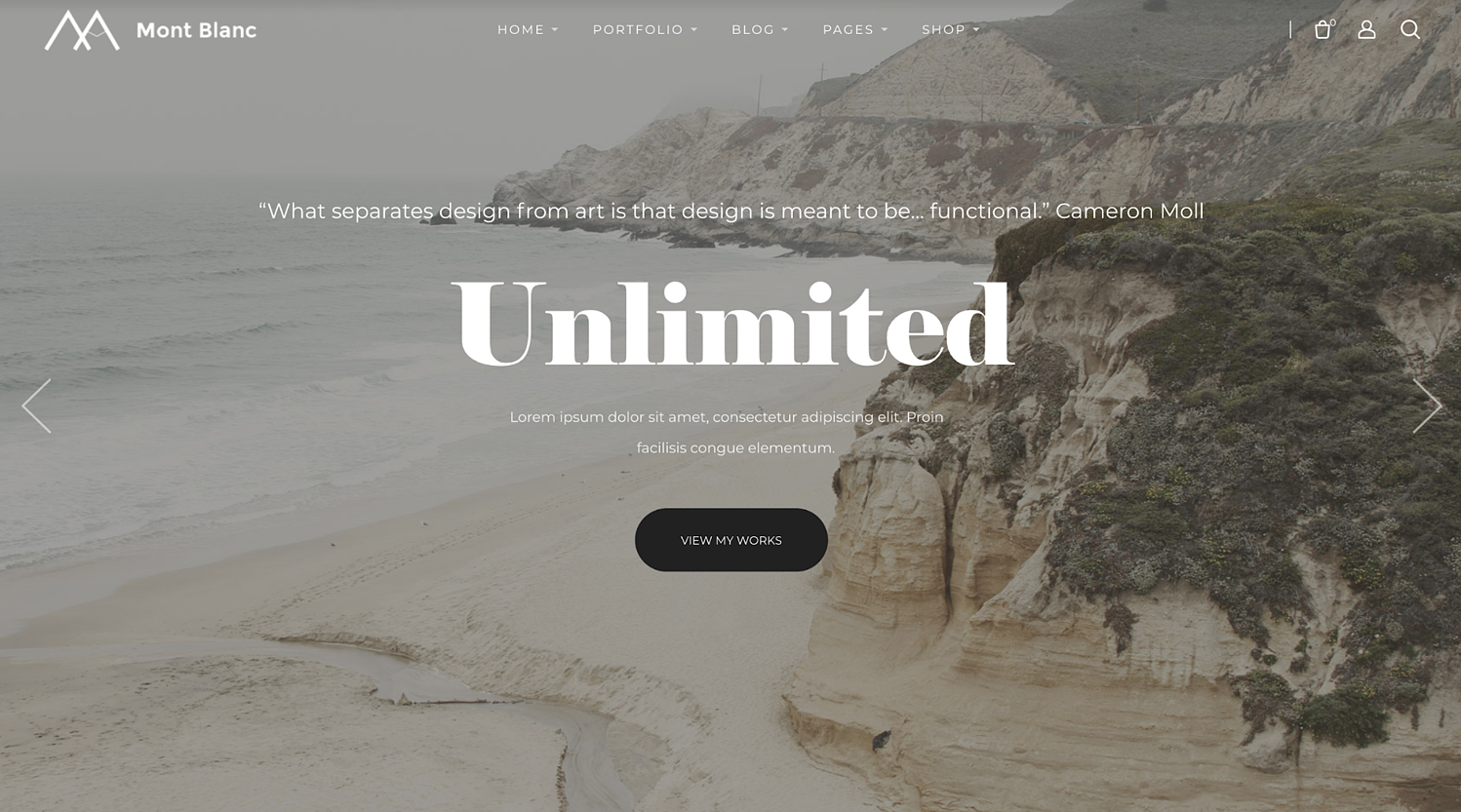 montblanc-simple-wordpress-theme
