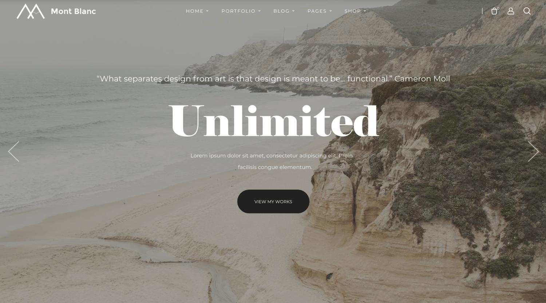 montblanc-simple-wordpress-theme