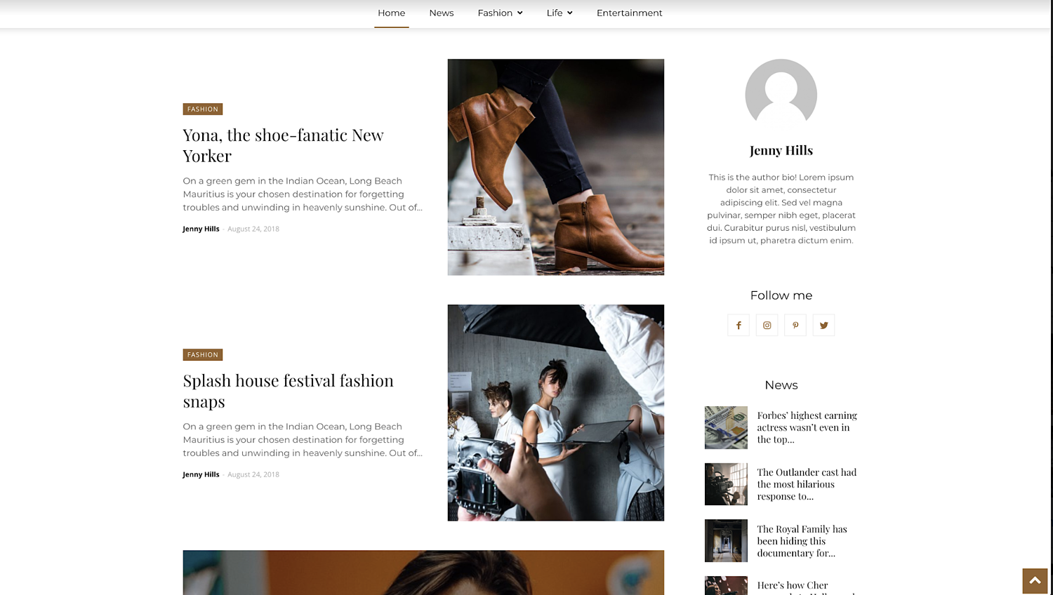 newspaper-simple-wordpress-theme