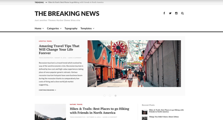the-breaking-news-simple-wordpress-theme