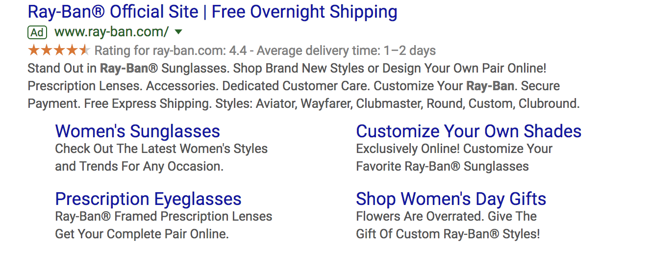 google-ads-sitelink-extensions