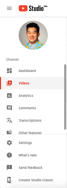 YouTube Studio Video Düzenleyicisi