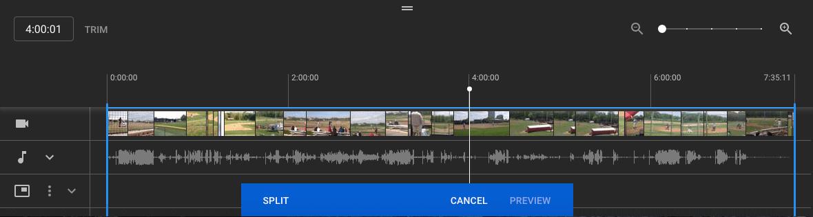 YouTube Studio Bölünmüş Video