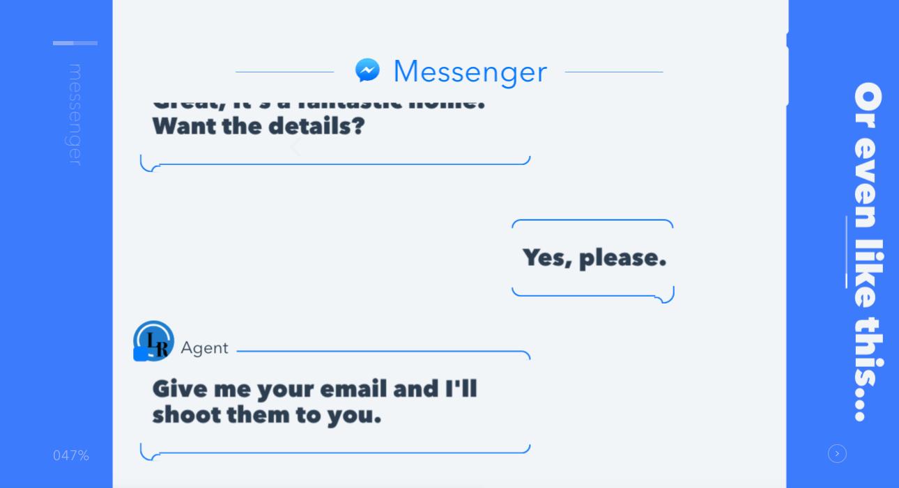 Conversational Marketing by HubSpot | Interactive marketing example