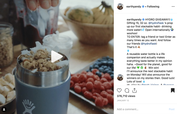 instagram influencer example earthyandy andrea Hannemann