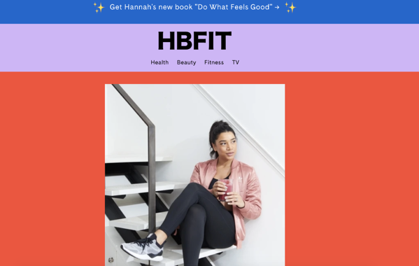 blog influencer hbfit