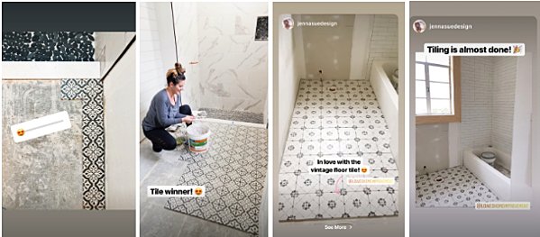 Lowe's How-to Home Improvement Instagram Story
