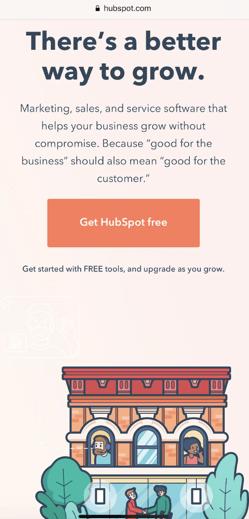responsive landing page design