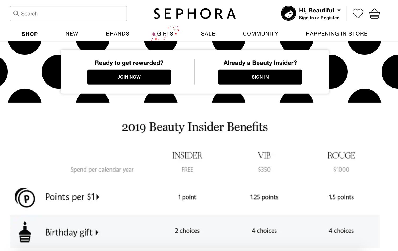 sephora beauty insider program delights customers