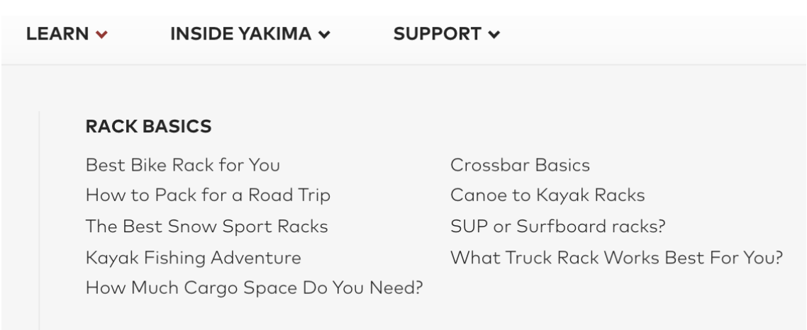 yakima-website-navigation-bar