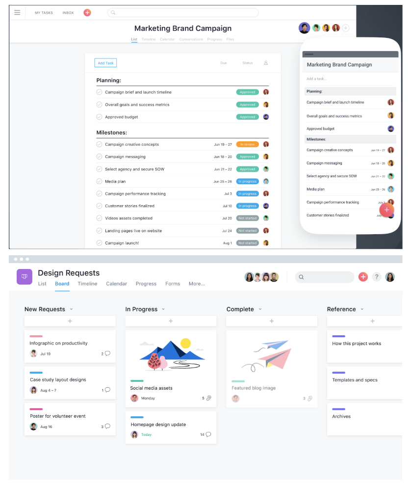 asana-free-project-management