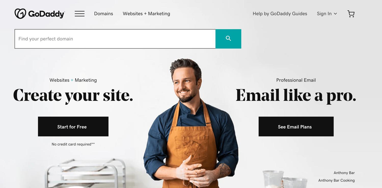 godaddy blog hosting