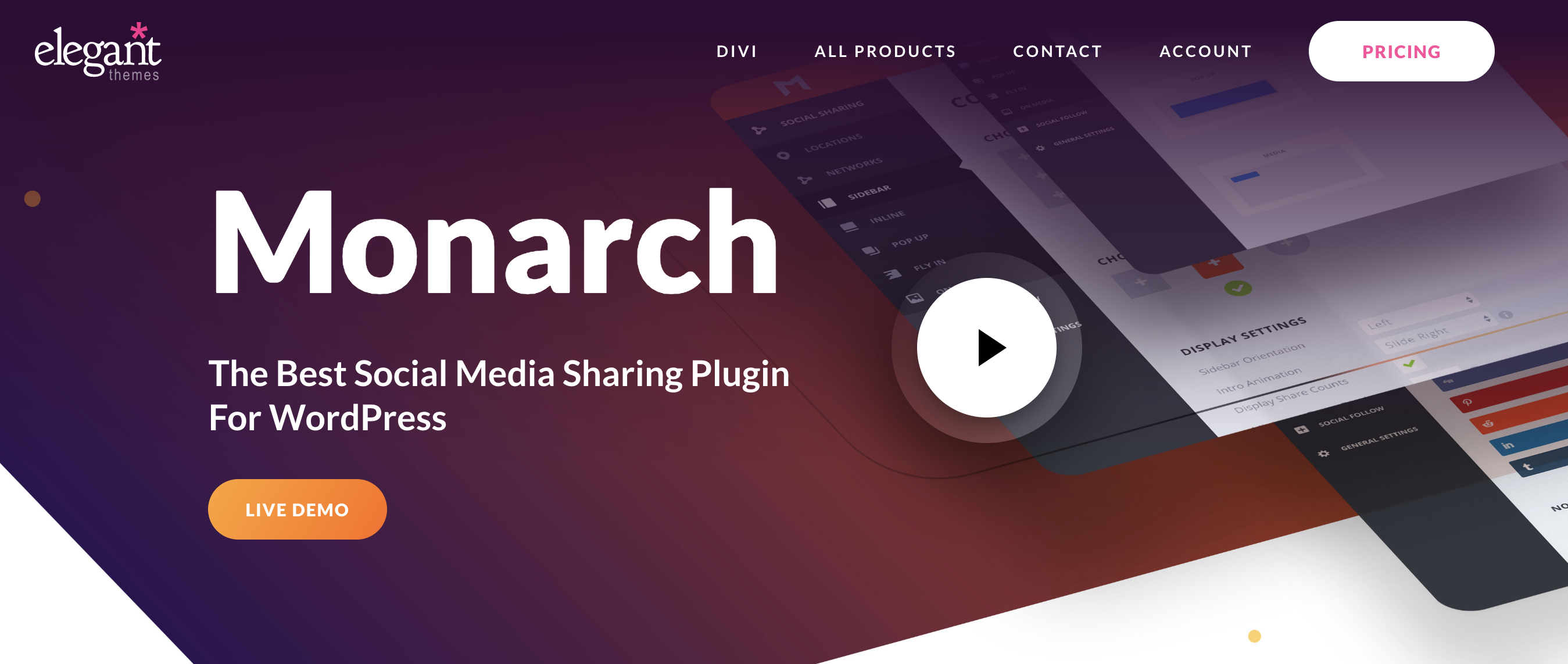 monarch wordpress plugin