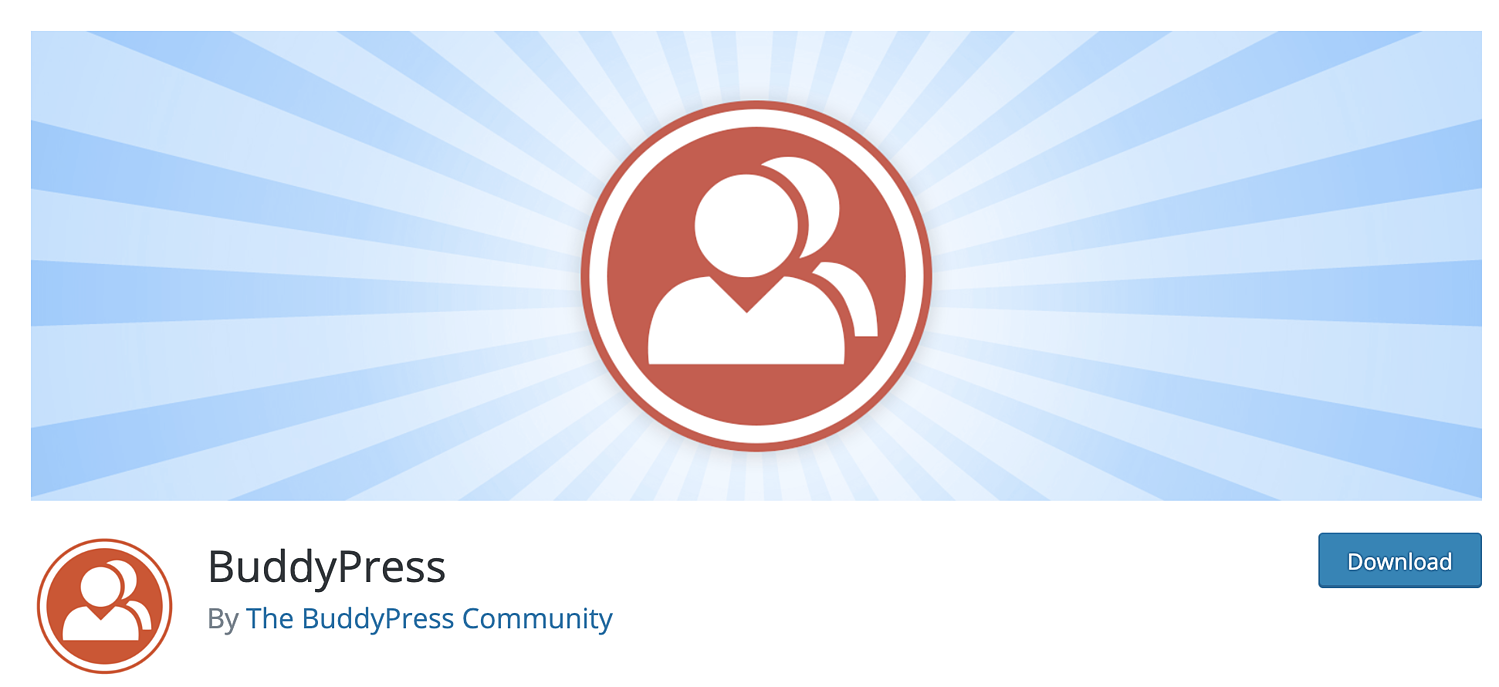 buddypress wordpress plugin