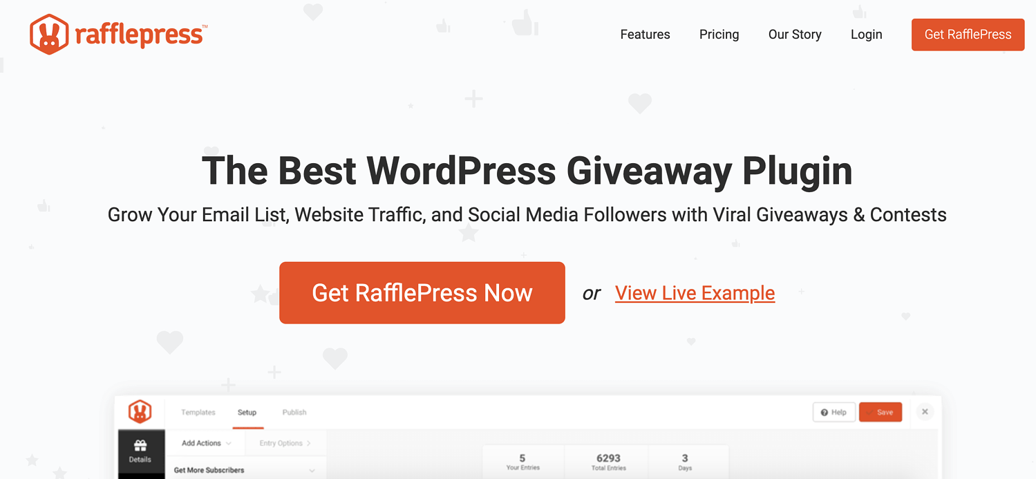 rafflepress wordpress plugin