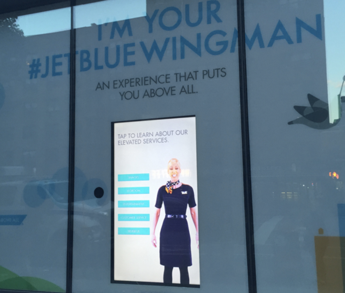 jetblue better wingman customer delight example