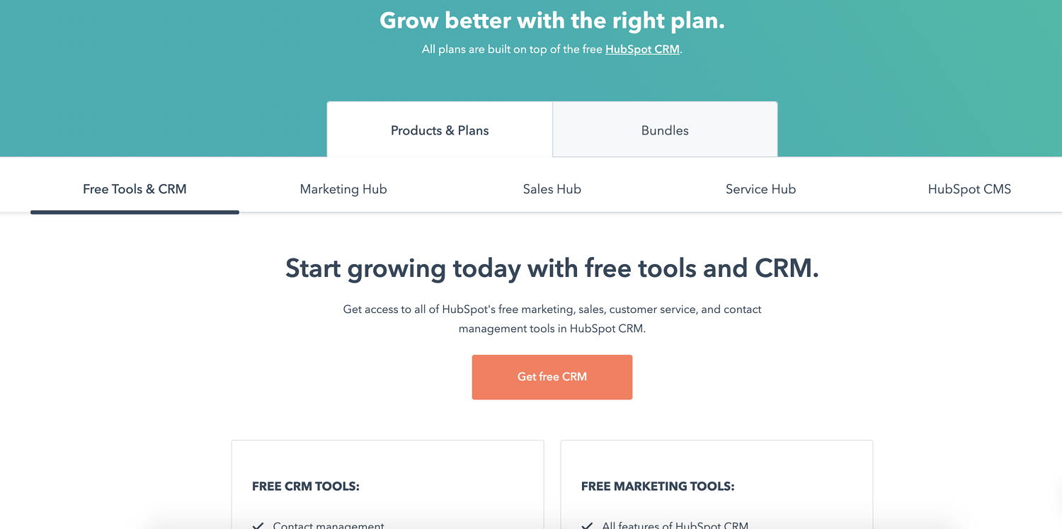 hubspot freemium pricing strategy example