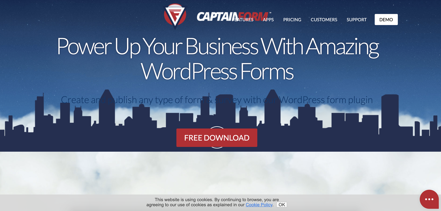 captain form wordpress contact form plugin
