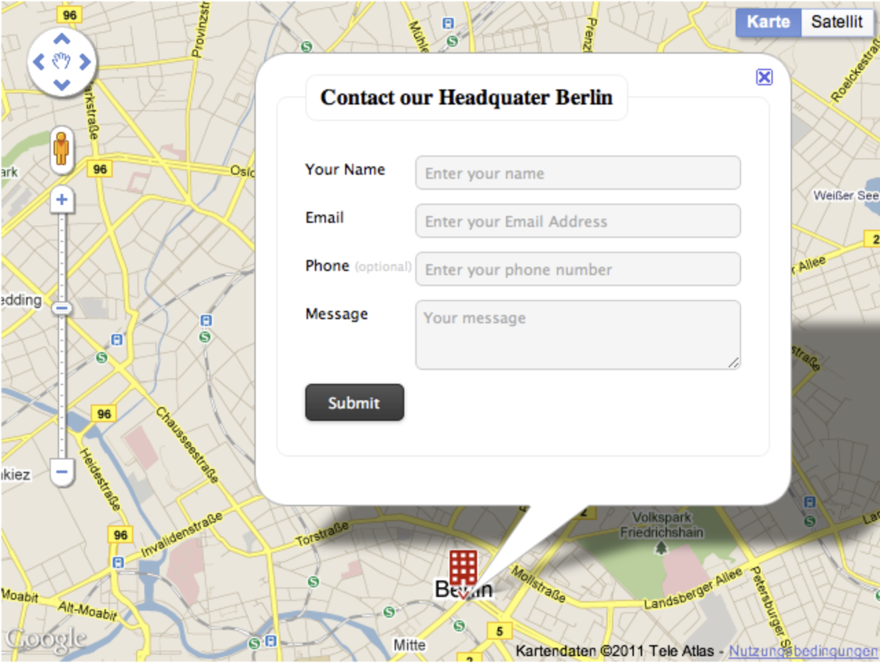 mapped contact form pro wordpress contact form plugin