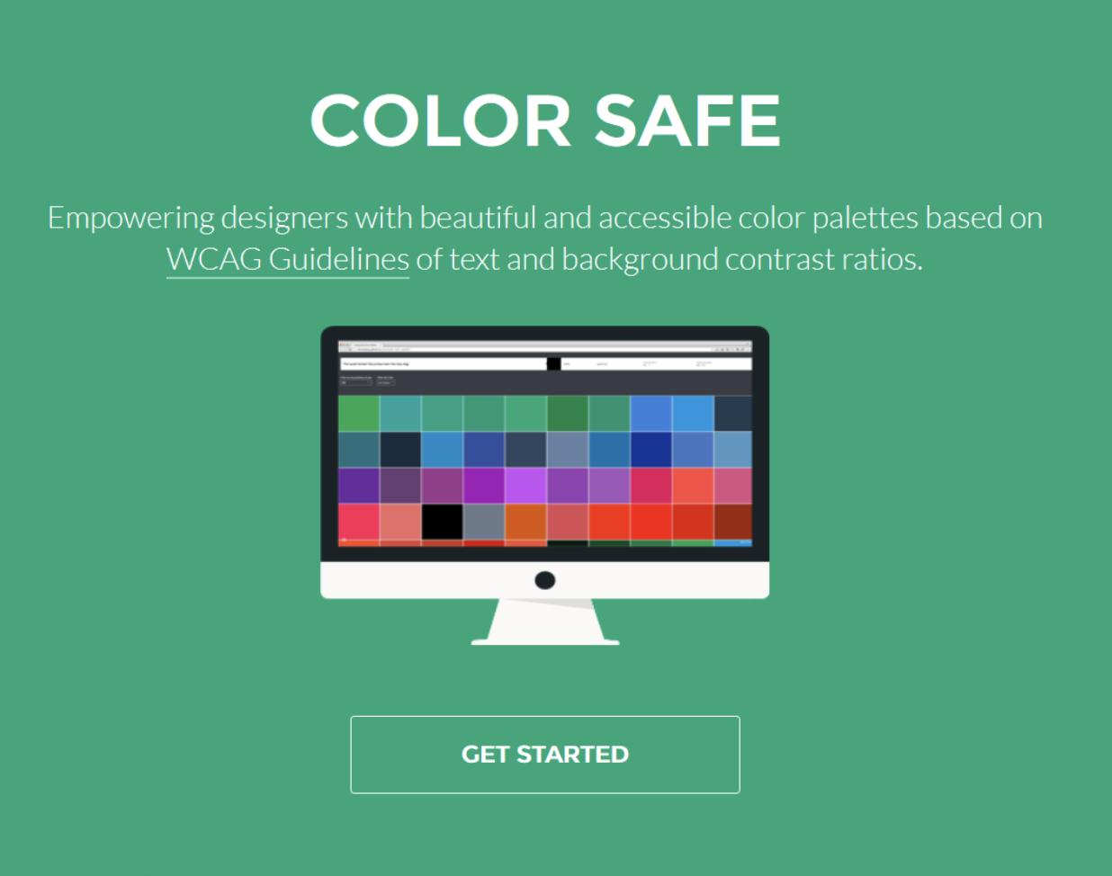 Color Safe web accessibility palettes