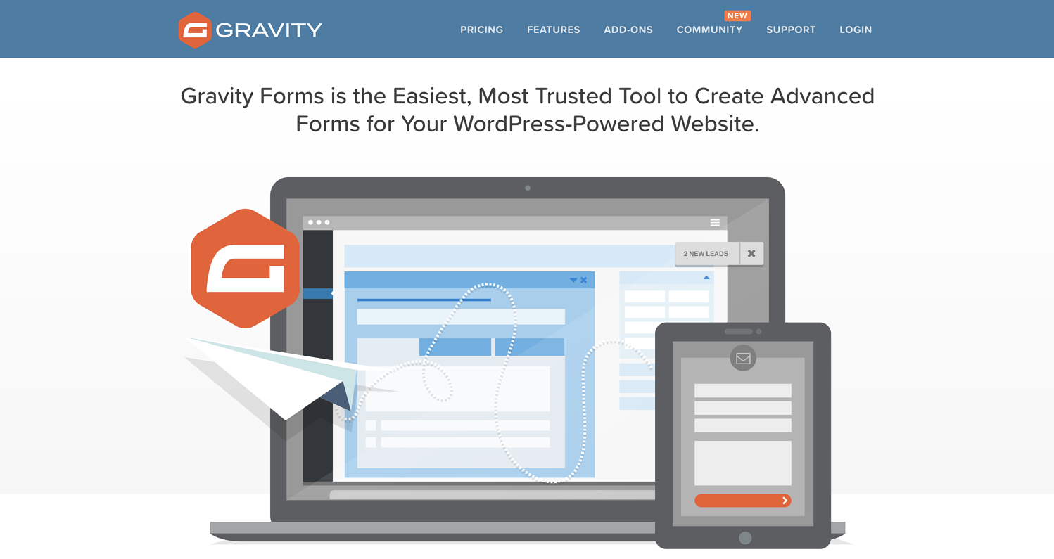 lead generation form builder tools gravity forms