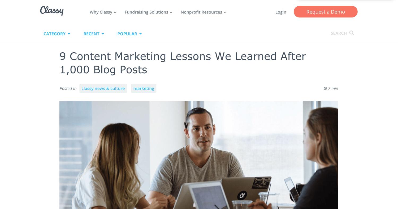 创意的潜在客户产生创意博客文章