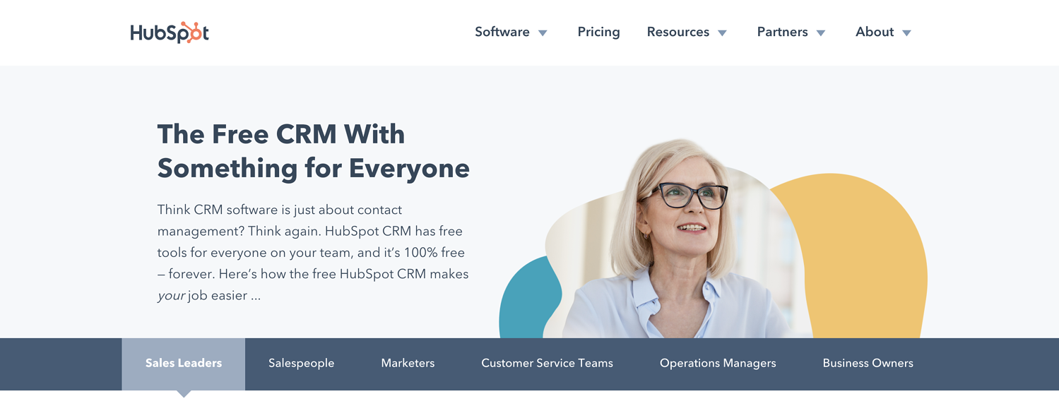 freemium hubspot crm creative lead generation ideas