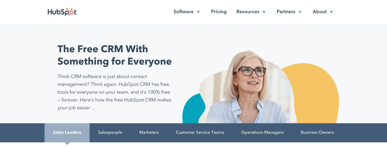Freemium Hubspot crm Creative Lead Generation Idea