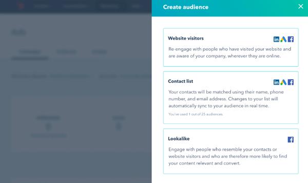 HubSpot's free marketing tool ads