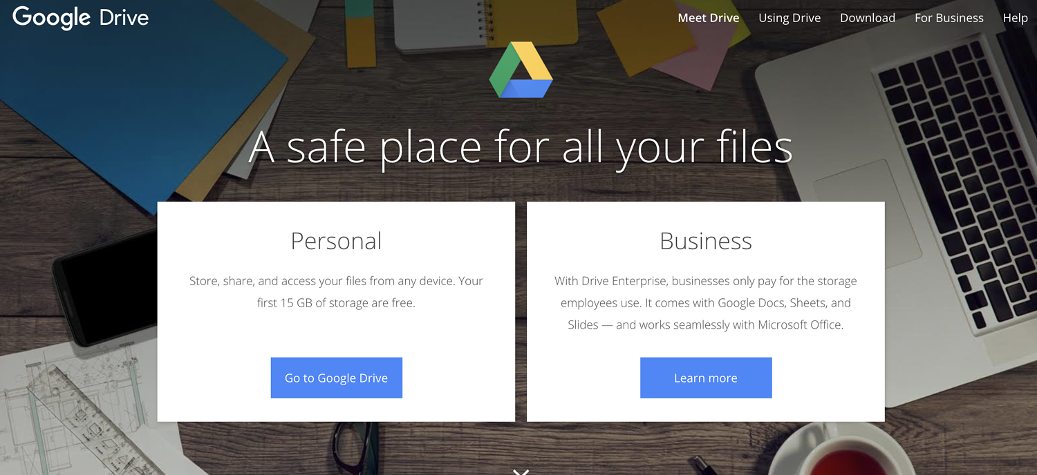 google drive remote work tool
