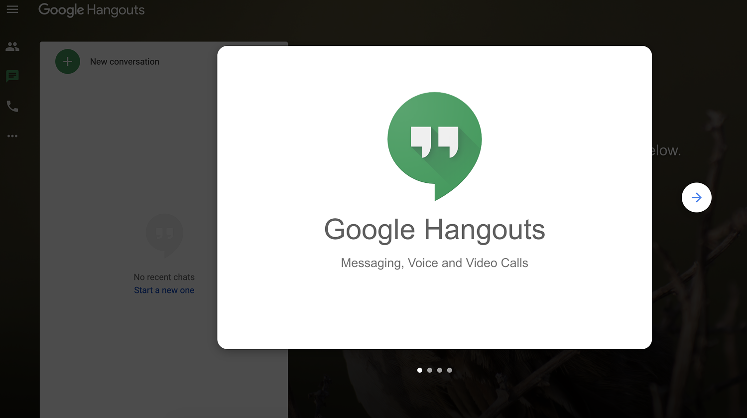 google hangouts remote work tool