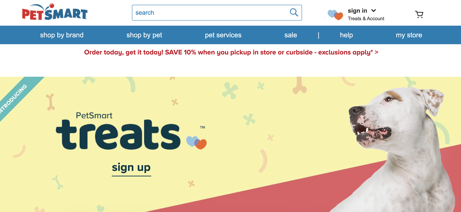 petsmart rewards program
