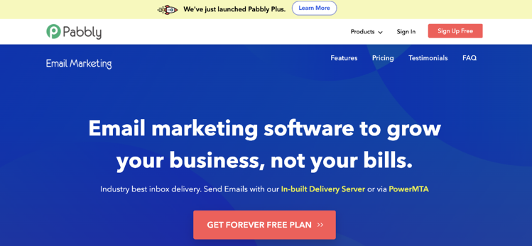 pabbly email marketing service