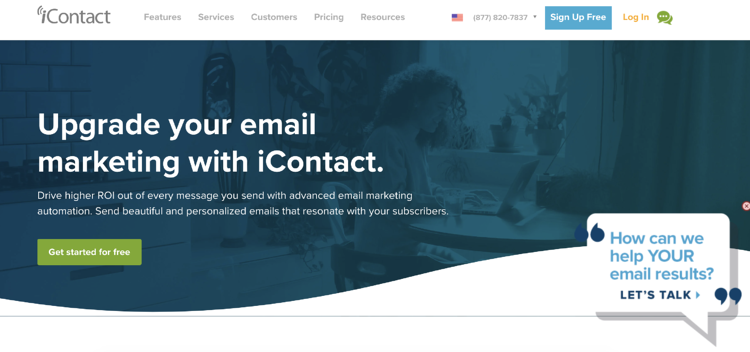 icontact email marketing service