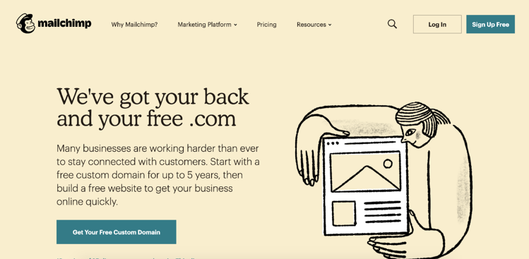 mailchimp email marketing service
