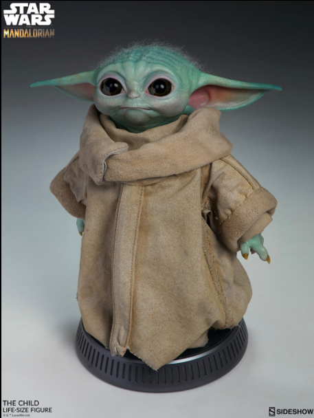 Figurine bébé Yoda