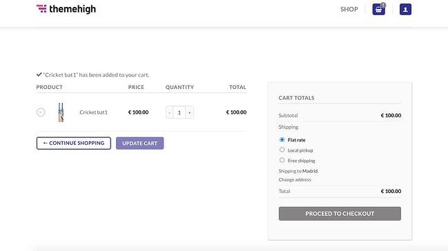 Checkout page demo built with Checkout Field Editor for WooCommerce plugin