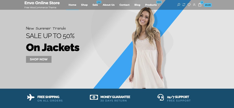 Envo Online Store theme demo
