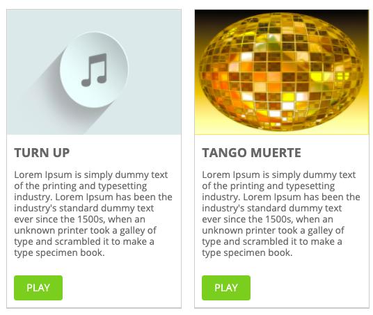 Tablet display created via Cincopa WordPress Podcast Plugin