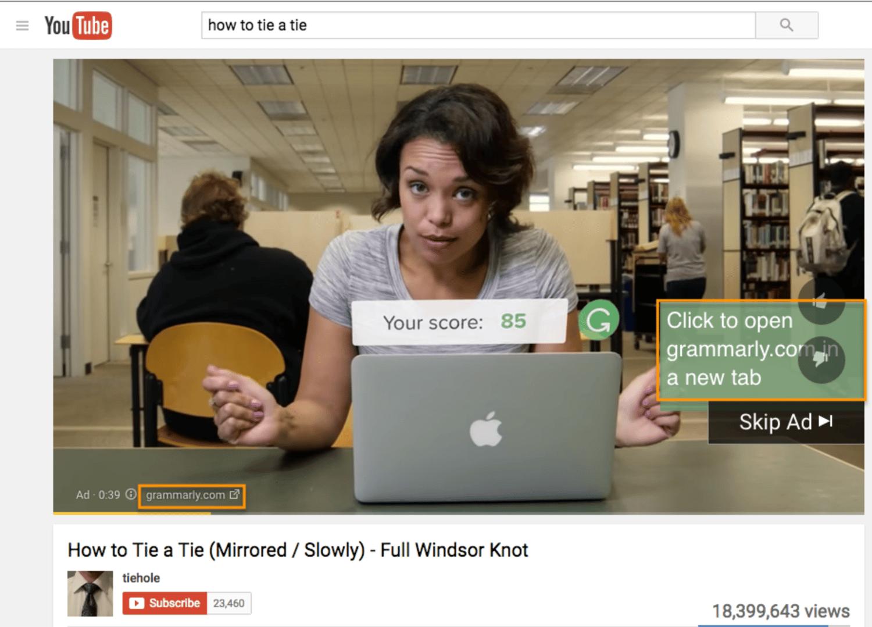 google ads video ads youtube