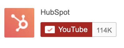 hubspot youtube button